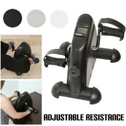 Mini Pedal Stepper Bike Feet Hand Cycling Fitness Exercise Trainer Desk Home Gym $36.99