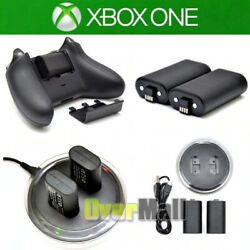 For XBOX ONE Controller Play Charging Dock 2x Rechargeable Battery Pack $19.69