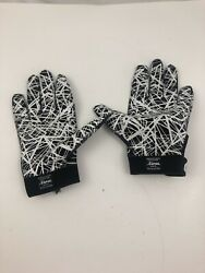 Cutters Football Gloves Adult L Receiver Glove Black amp; White $20.00