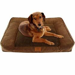 Orthopedic Dog Bed Extra Large Portable Ultra Plush Memory Foam Durable Bed XL $53.74