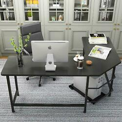New Computer Desk PC Laptop Table Workstation Corner Home Office L Shape $129.99