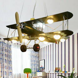 Modern Airplane Ceiling Light LED Chandelier Pendant Lamp Fixture for Kids Room $168.00