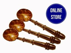 Traditional Coconut Shell Spoon Natural Kitchen Tools Equipment Cheap Price $8.70
