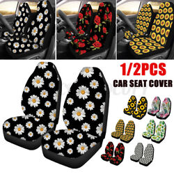 1 2 Pack Universal Car Front Seat Cover PrintedProtector For Sedan SUV Truck US $10.44