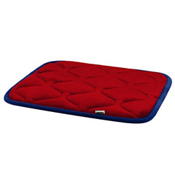 Hero Dog Small Dog Bed Mat 21 Inch Crate Pad Anti Slip Mattress Washable for Red $13.30