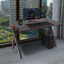 Gaming Desk Home Office Computer Table Ergonomic Racing Style Gamer Student Play $99.99
