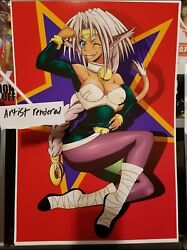 Outlaw star 13 by 19 poster $15.00