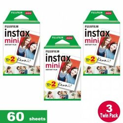 60 Fujifilm Instax Instant Film Prints For Mini 8 9 amp; all Fuji Mini Cameras $35.99