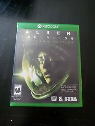 Alien Isolation Nostromo Edition Xbox One 2014 - Complete Works  $12.94