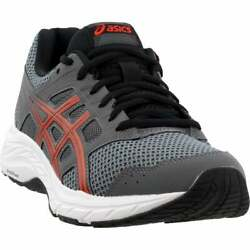 ASICS Gel Contend 5 Casual Running Shoes Grey Mens $44.95