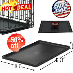Pet Dog Crate Replacement Floor Pan Plastic Liner Repl Tray 48quot; Cage Kennel USA $25.99