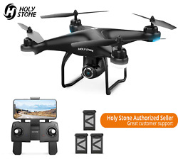 Holy Stone HS120D GPS Selfie RC Drone with HD Camera 1080P 3 Battery Quadcopter $159.99
