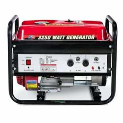 All Power 2500-Watt Gasoline Powered Portable Generator with Red $263.24