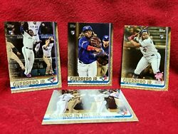 LOT X4 2019 Topps Update Vladimir Guerrero Jr Gold Rookie RC /2019 Jays US1  $124.99