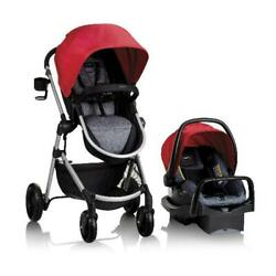 Evenflo Pivot Modular Travel System With Safemax Rear Facing Infant Car Seat $354.80