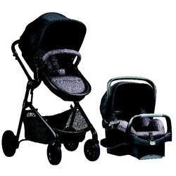 Evenflo Pivot Modular Travel System with Safemax Infant Car Seat Casual Gray $354.80