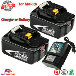 BL1830B for Makita 18V 3.0Ah Lithium Battery or DC18RC Charger BL1850 BL1860 LXT $44.63