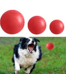 Dog Pet Indestructible Rubber Ball Chew Toy UP TO 15% OFF $9.29
