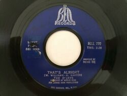 hear Northern Soul 45 O'JAYS That's Alright BELL $10.00