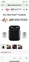 Jive Mini Earbuds-Open Box Never Used $45.00