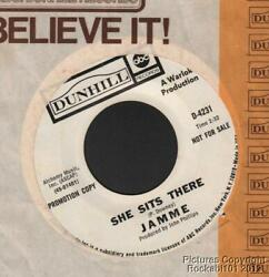 (Hear) 1970 Jamme Psychedelic Rock DJ 45 (She Sits There  Poor Widow)