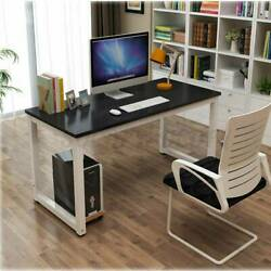 Modern Black Computer Table Study Desk PC Laptop Table Workstation Home Office $79.99