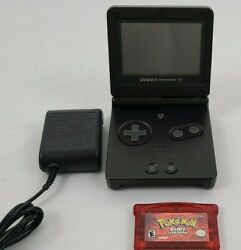 Nintendo Game Boy Advance SP Handheld System With Charger Black  $30.00