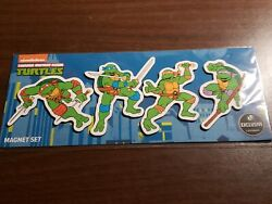 nickelodeon 2018 Exclusive Loot Crate Teenage Mutant Ninja Turtles Magnet Set $19.99