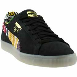 Puma Coogi Clyde Formstrip Lace Up Mens Sneakers Shoes Casual Black Size $29.99