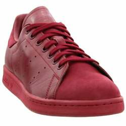 adidas Stan Smith Sneakers Casual Burgundy Mens $59.95