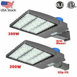 200W 300W LED Street Light with Sensor Commercial Parking Lot Lamp Outdoor IP65