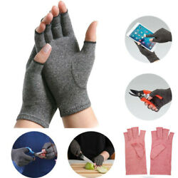 Copper Compression Gloves For Arthritis Carpal Tunnel Hand Support Pain Relief $6.99
