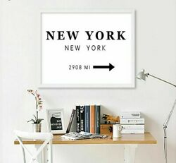 New York London Paris City Modern Wall Paintings Posters Living Room Decorations $17.57