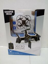 Sharper Image Rechargeable 2.4GHz Micro Drone With Gyro Stabilization NEW SEALED $10.99