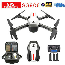 SG906 GPS Brushless 4K Drone w Camera 5G Wifi FPV Altitude Hold Quadcopter T0L6 $140.98