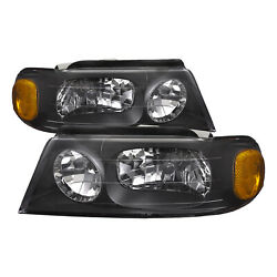 Left and Right Headlights Pair Fits Beaver Motor Coach Patriot 2001 2005 RV $97.91