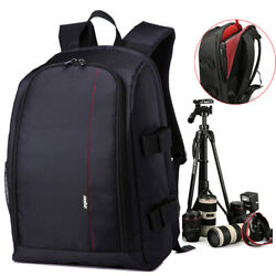 Large Camera Backpack Bag for Canon Nikon DSLR amp; Mirrorless and Laptop Backpack $38.98