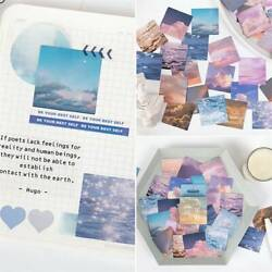 46* Pack Cute DIY Paper Stickers Kawaii Stationery Scrapbooking Diary Sticker US $1.89