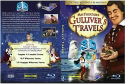 Gulliver#x27;s Travels 3 D WIDESCREEN 3 in 1 BLU RAY Limited Edition Restored film $9.99