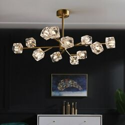 9 12 Light Crystal Sputnik Chandeliers Pendant Lamps Lighting Ceiling Fixtures $161.99