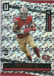 2019 Unparalleled JEFF WILSON Jr. RC Flight 49ers ONLY RC $14.99