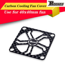 Rocket 40x40mm Graphite Fan Cover amp; Screw for RC Motor Electric Regulating Cover $5.96