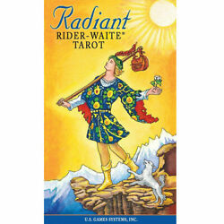 Radiant Rider Waite Tarot Deck Card 78 Divination Prophet Cards w Instructions $18.95