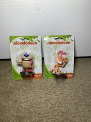 Nickelodeon 2018 Ren Hoek amp; Stimpy J. Cat 2quot; Figurines Lot of 2 Nick Toons $7.19