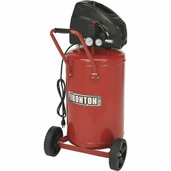 Ironton Portable Electric Air Compressor 1.5 HP 20 Gallon Vertical Tank $184.99
