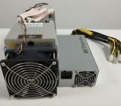 Antmimer S9 Btc Miner And Power Supply PARTS ONLY $69.99