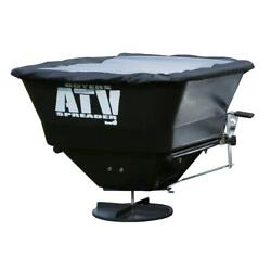 100 lbs. Capacity ATV All Purpose Broadcast Spreader Tailgate Fertilizer Seed $186.95