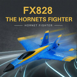 FX828 RC Airplane 2.4GHz Remote Control Aircraft Electric Plane Glider Toys Gift $42.89