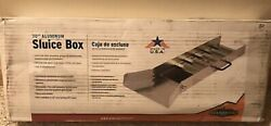 STANSPORT 582 SLUICE BOX 30 IN ALUMINUM OUTDOOR GOLD MINING New Free Ship $109.99