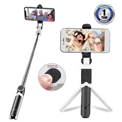 Mini Selfie Stick Tripod Bluetooth Wireless Universal For All Smartphone $6.99